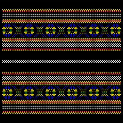 Hoa văn vector MẠ 006