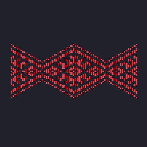 Hoa văn vector MẠ 025