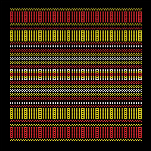Hoa văn vector MẠ 009