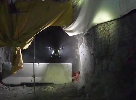 Underground  air support