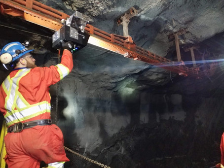 Robotics stepping up safety in underground mine inspections