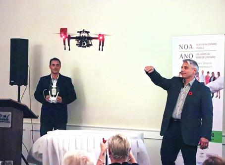 SafeSight Drones Grow Angel Wings