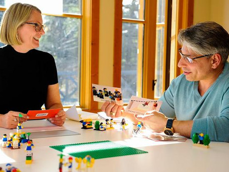 LEGO® SERIOUS PLAY® Methods are Changing the World: Above and Underground!