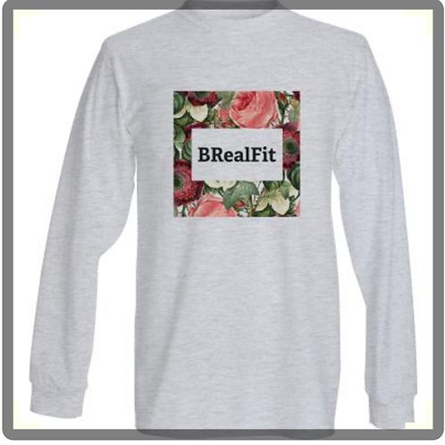 BRealFit Long sleeve (light grey)