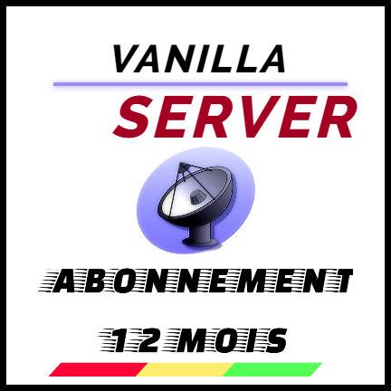 VANILLA SERVER