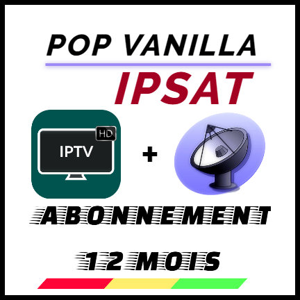 POP IPTV VANILLA 12 MOIS