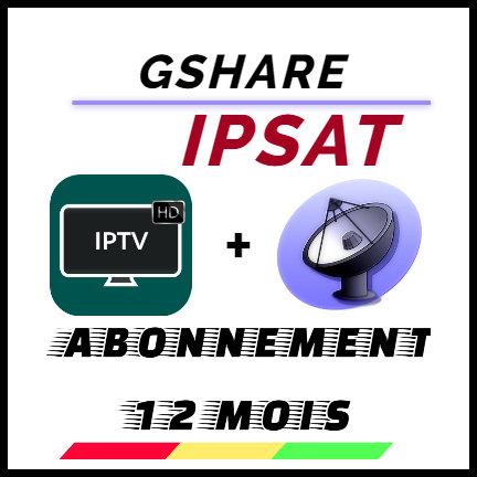 GSHARE IPTV+Serveur (K12)