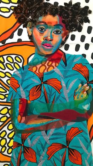 Anaya With Oranges, 2018