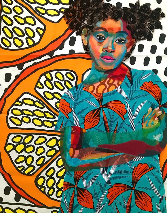 Anaya With Oranges, 2018