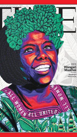 Time Magazine Wangari Maathai, 2020