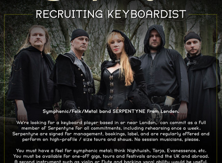 Recruiting Keyboardist