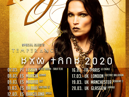 Portugal, Spain & France with Tarja