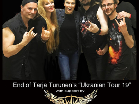 Tour Photos: Ukraine & Belarus w/ Tarja