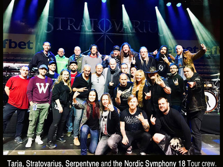Tour Photos - Tarja, Stratovarius & Serpentyne