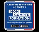 Logo compte personnel de formation CPF pour les bilan de compétences de Tiphaine Bersot Conseil à Gif sur Yvette