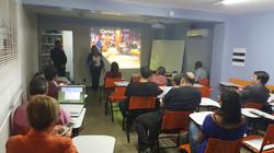 foto cristiane sala de treinamento