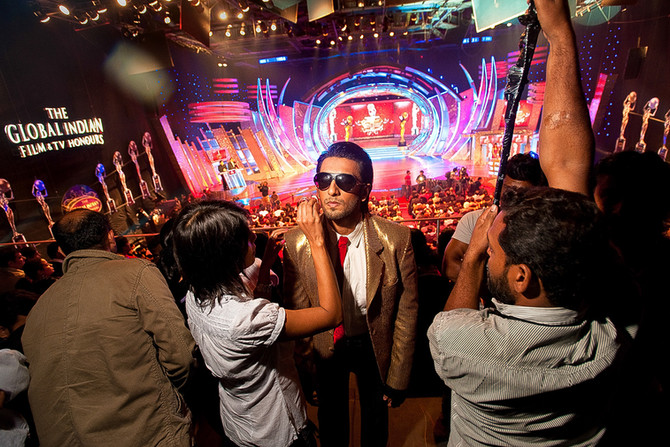 Bollywood behind the scenes with photographer Mark Bennington -  THE ATLANTIC