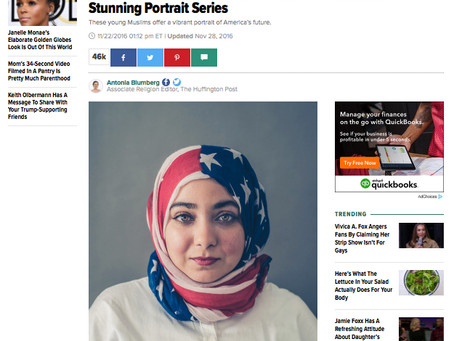 """Closing out the year with inclusive """"AMERICA 2.0"""" portrait project... HUFFINGTON POST, BUZ"""