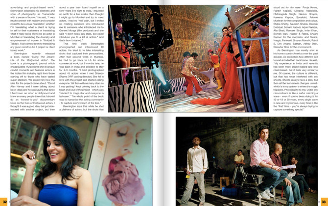 Feature in Asian Photography magazine, Mark Bennington