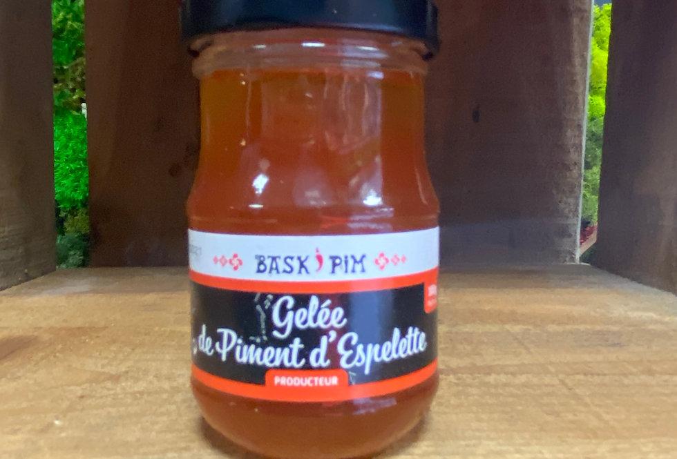 Gelée de piment d'Espelette 100g