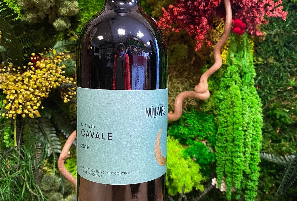 Château cavale Millaire Rouge Rouge 2018