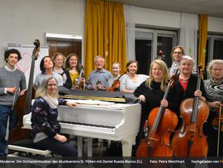 """""""Auf neuem Weg zu älter Große"""": Der Musikverein St. Pölten hat einen neuen Dirigenten."""
