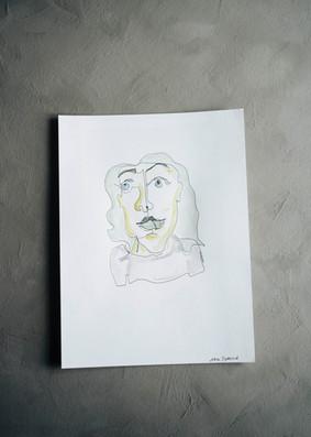 Självporträtt