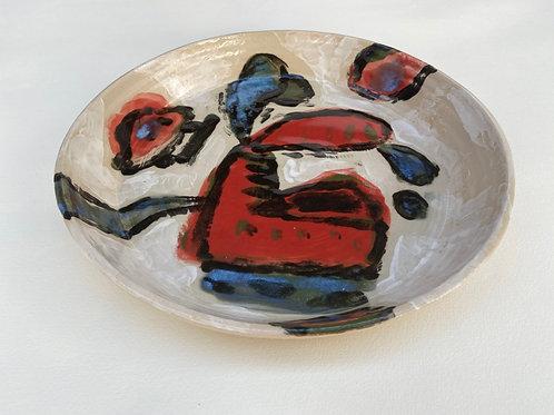 Plate by Albert Pepermans