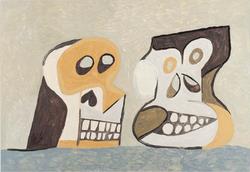 (still life with) Two skulls