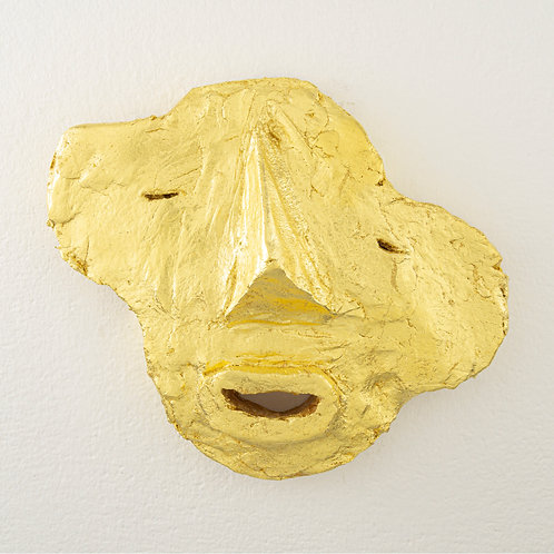 'Golden Facial' by Roosje van Donselaar