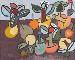 (still life with) Apples and pears