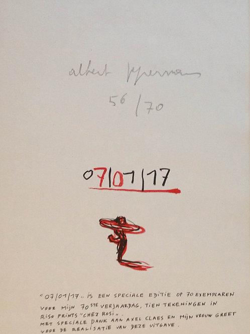 01071947 Riso prints by Albert Pepermans