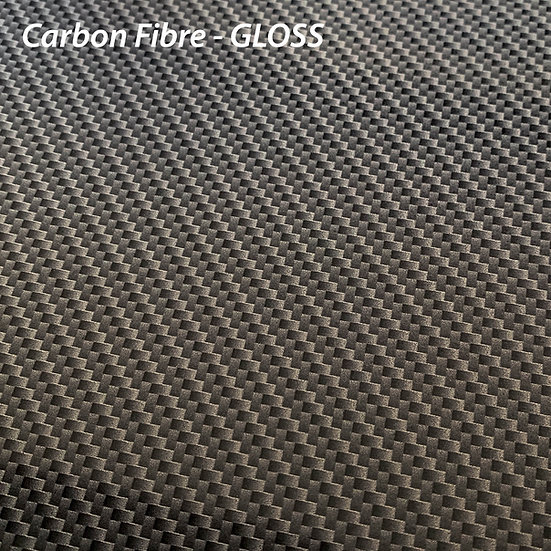 Carbon Fibre Gloss A4 / A3 Piece for Wrapping