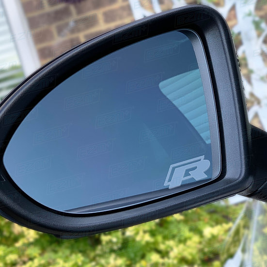 Frosted Wing Mirror Decals x 2 for VW Golf MK7 / MK7.5 R