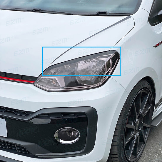 EZM Headlight Brow Decals x 2 for VW Up GTI