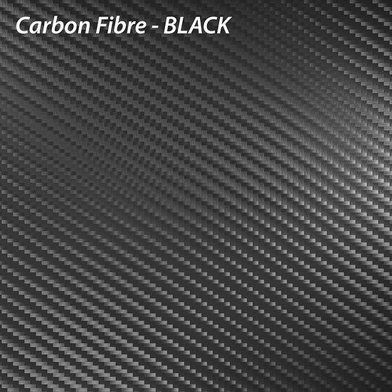 Carbon Fibre Black A4 / A3 Piece for Wrapping