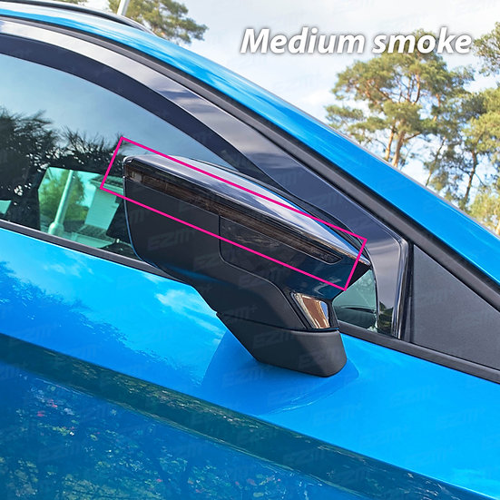 EZM Wing Mirror Indicator Strip Pre-Cut Tints x 2 for Seat Leon MK3 / MK3.5 Leon