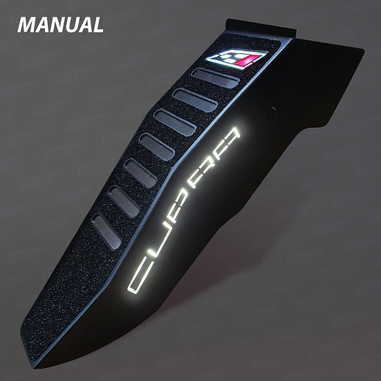 EZM Steel LED Footrest for Seat Leon MK3 / MK3.5 Cupra Models