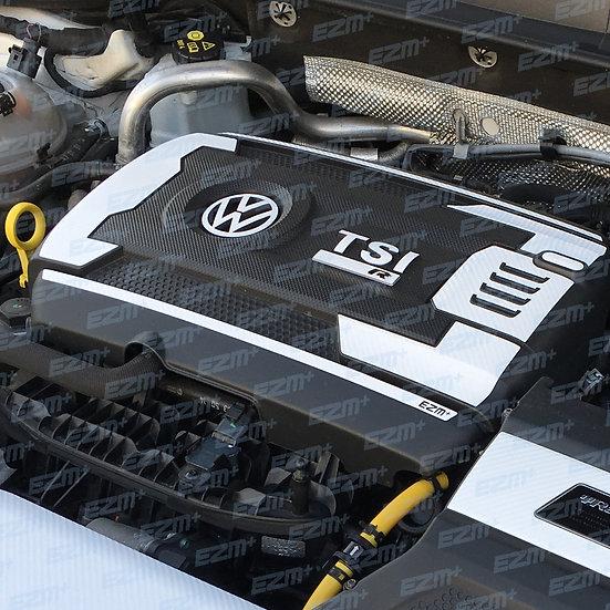 EZM Engine & Fuse Box Cover Decals for VW Golf MK7 / MK7.5 R