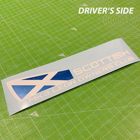 Scottish MK3 Leon Owners Club - Window Decals