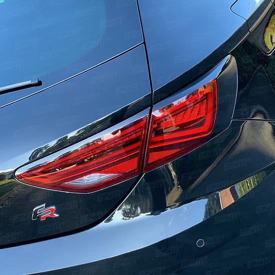 EZM Tail Light Stealth Overlays x 2 for Seat Leon MK3.5 Cupra / FR