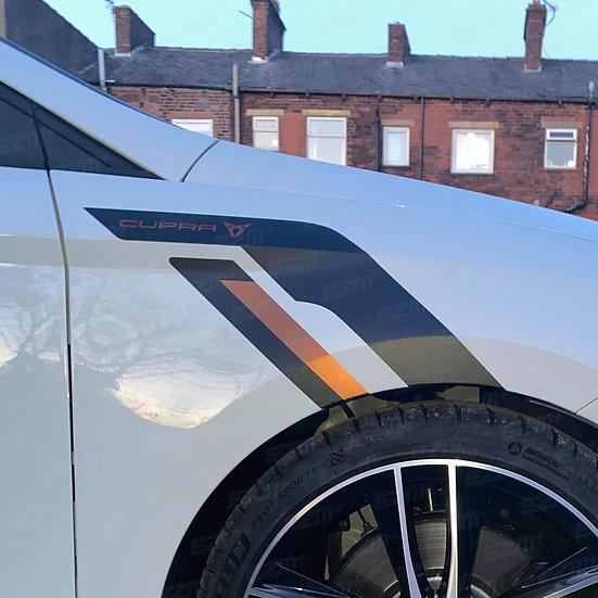 EZM Sideburns x 2 for Seat Leon MK3 / MK3.5 Facelift Cupra Models