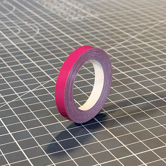 Hot Pink 6mm Wide - High Quality Pin Stripe Vinyl
