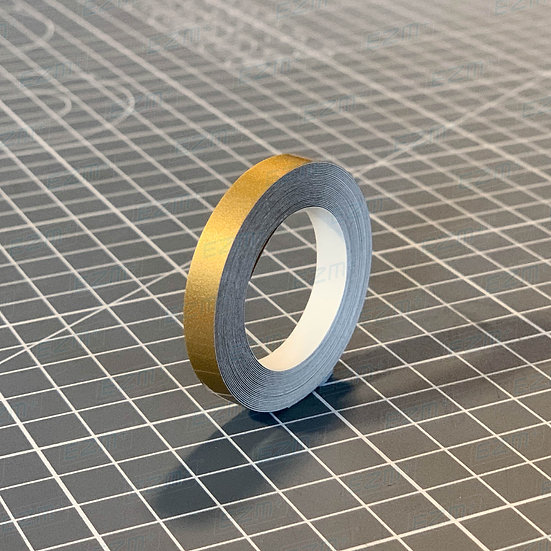 Metallic Gold 6mm Wide - High Quality Pin Stripe Vinyl