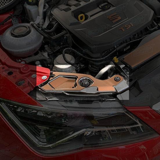 EZM Headlight Brace Decals x 2 for Seat Leon MK3.5 FR 1.5L TSI