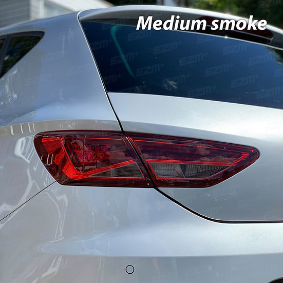 EZM Tail Light Transparency Tints x 2 for Seat Leon MK3 5F Cupra / FR Models