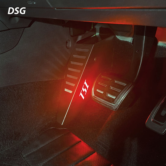 EZM Steel LED Footrest for VW Golf MK7 / MK7.5 TSI Models