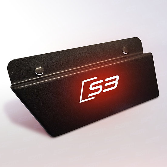 EZM Steel LED Passenger Side Plate for Audi S3