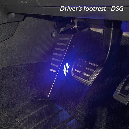 EZM Steel LED Footrest for Seat Leon MK3 / MK3.5 FR Models
