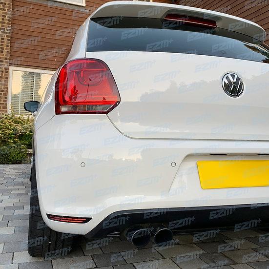 EZM Reflector Decals x 2 for VW Polo MK5 6R GTI